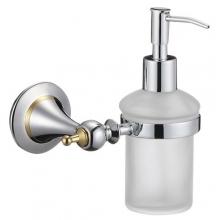 """Диспенсер ZOLLEN """"ESSEN chrome"""" (ES83424) для жидкого мыла с держател"""