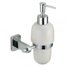"Диспенсер ZOLLEN ""BERGEN"" (BE83624BL) для жидкого мыла с держателем,"