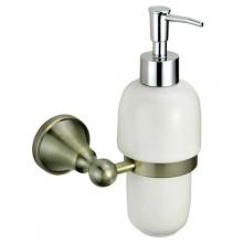 "Диспенсер ZOLLEN ""BREMEN"" (BR83427BL) для жидкого мыла с держателем,"