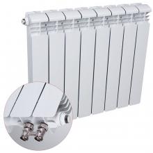 Радиатор Алюминиевый RIFAR Alum VL 500 - 6 секций (нижнее левое подключение)