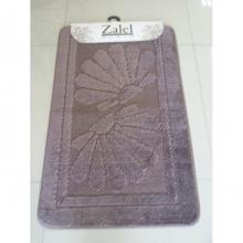 "Коврик для ванной ""Zalel"" 55х85/90см (ворс) коричневый"
