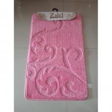 """Коврик для ванной """"Zalel"""" 55х85/90см (ворс) розовый"""