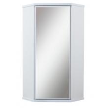 Шкаф подвесной УГЛОВОЙ с зеркалом (TIVOLI)