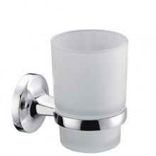 Стакан ZOLLEN ROSTOCK (RO84424) для зубных щеток с держателем, настенный б/уп.