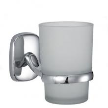 Стакан ZOLLEN SIEGEN (SI84424) для зубных щеток с держателем, настенный б/уп.