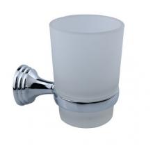 Стакан ZOLLEN DORTMUND (DO84424) для зубных щеток с держателем, настенный б/уп.