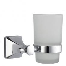 Стакан ZOLLEN ESSEN (ES84424) для зубных щеток с держателем, настенный б/уп.