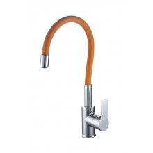 Смеситель ZOLLEN RHEIN (арт.RH77812931) для кухни, гибкий излив, оранжевый
