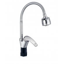 Смеситель КС ДЕНТ (4062630) для кухни, d40, гибкий излив